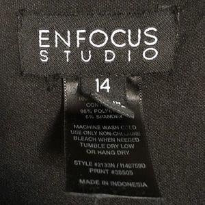Enfocus Studio Dresses - Enfocus Studio Black & Tan Geometric Maxi Sundress
